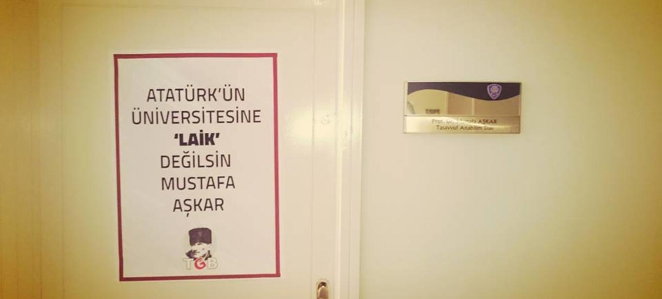 Atatürk'ün Üniversitesine 'Laik' Değilsin!