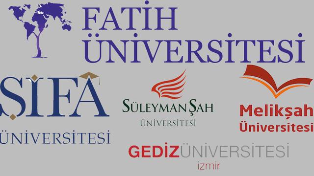 İşte Kapatılan Üniversiteler