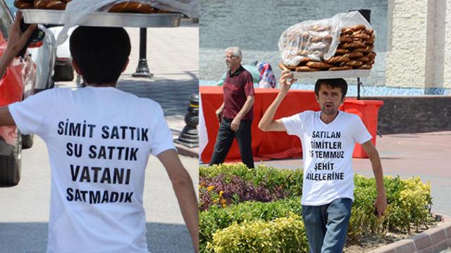 Simitçi Erkan, Hasılatını Darbe Şehitlerine Bağışladı