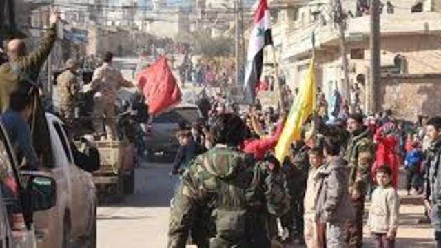 Suriye Halep'te Teröristler Kuşatıldı