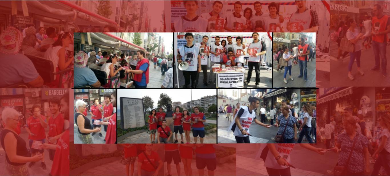 Atatürk Gençliği 30 Ağustos'ta Meydanlarda!