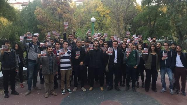 TGB Ankara 29 Ekim İçin Kapı Kapı Dolaşıyor