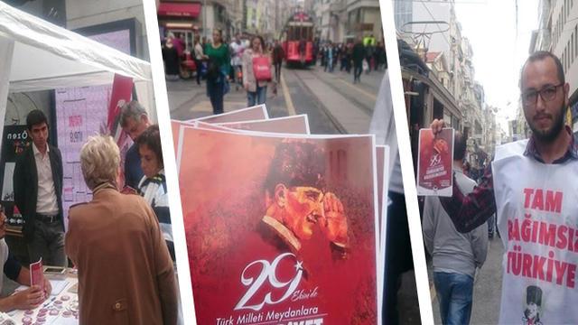 İstanbul'da 29 Ekim Atmosferi TGB ile Yaratılıyor