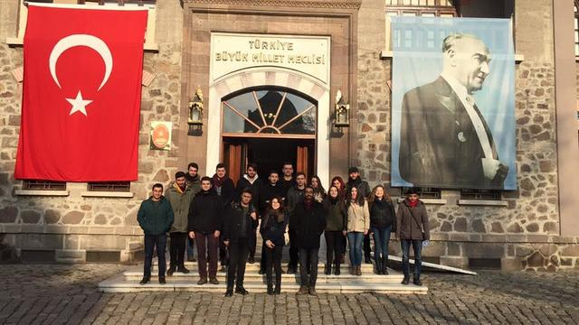 Sakarya Üniversitesi ADT'den Ata'ya Ziyaret