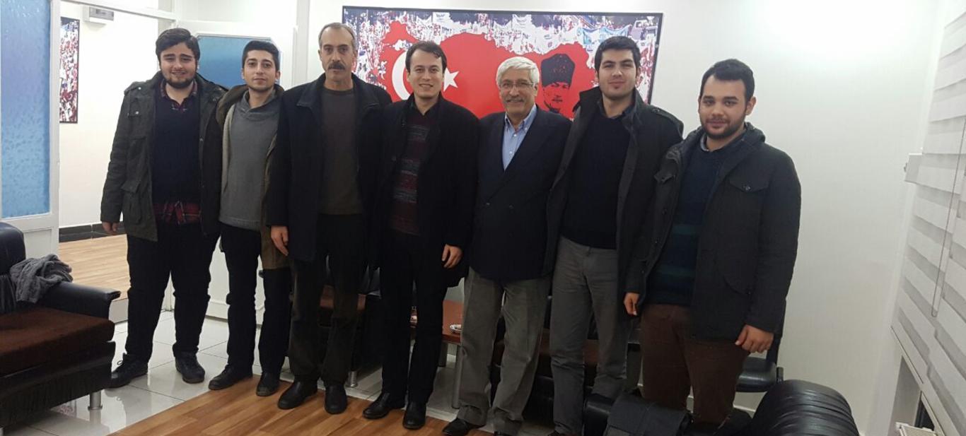 TGB Heyetinden Diyarbakır'da Türk Eğitim-Sen'e Ziyaret