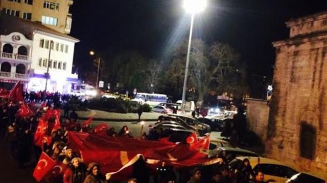 Kırklareli Üniversitesi Öğrencileri Teröre Karşı Tek Yumruk Oldu!