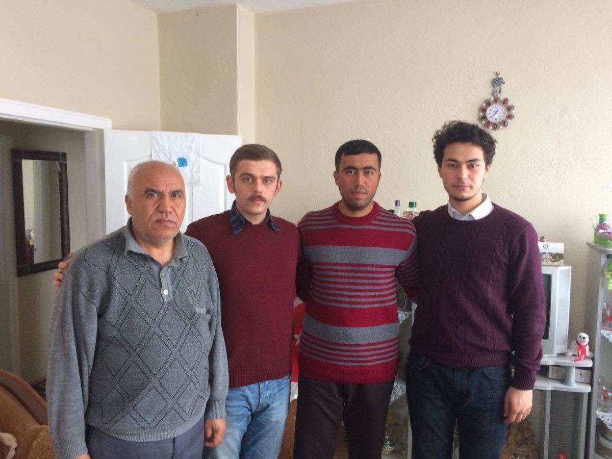TGB Kırıkkale'den El Bab gazisine ziyaret