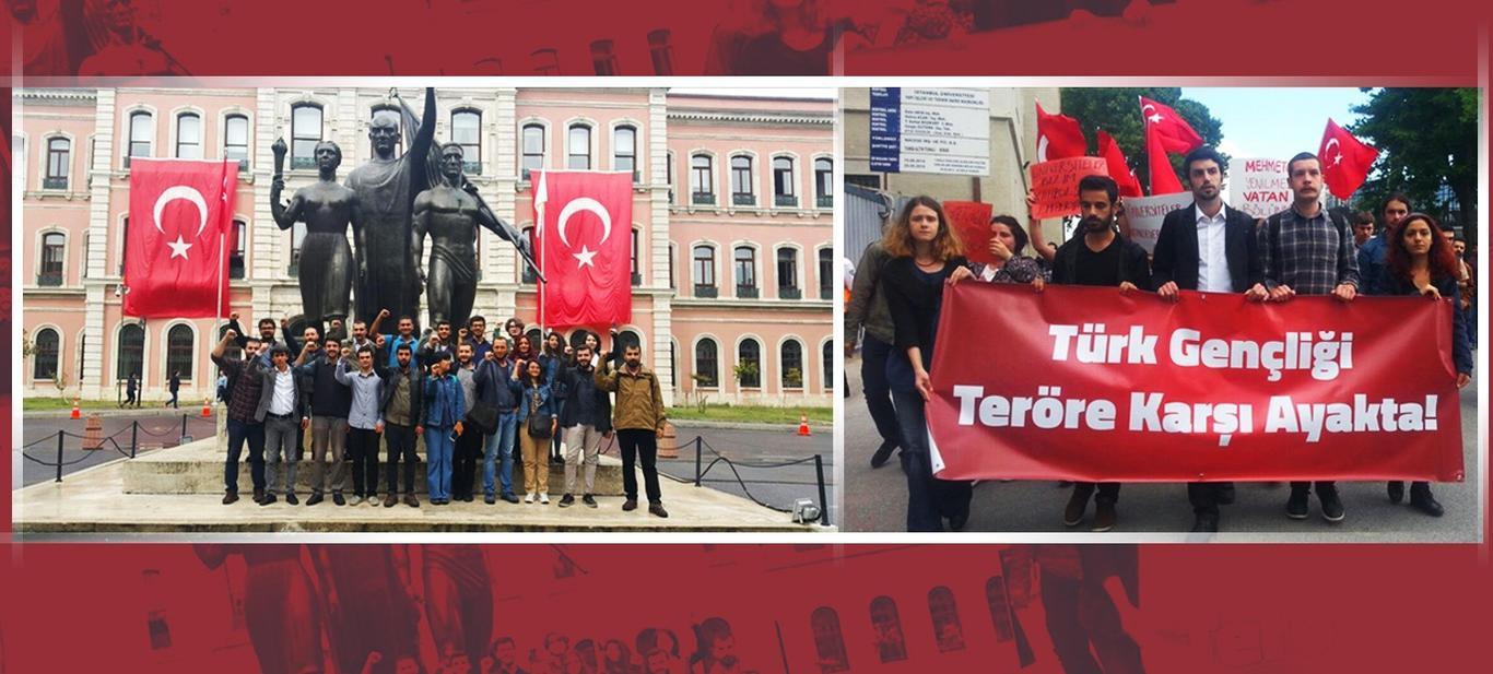 TGB İstanbul Üniversitesi Birimi'nden IŞİD Tehdidine Yanıt