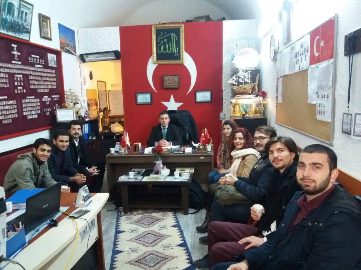 TGB Beyazıt Birimi'nden İstanbul Üniversitesi Güvenlik Müdürü'ne ziyaret!