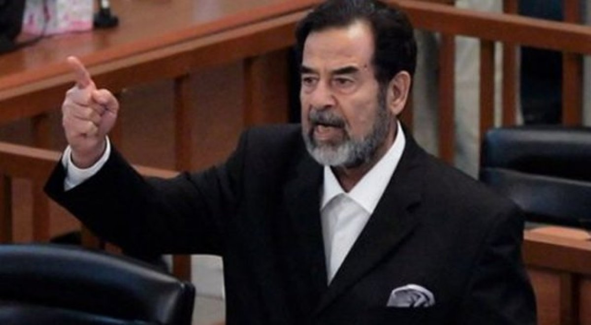 "CIA ajanından itiraf: ""Tarih Saddam'ı haklı çıkardı!"""