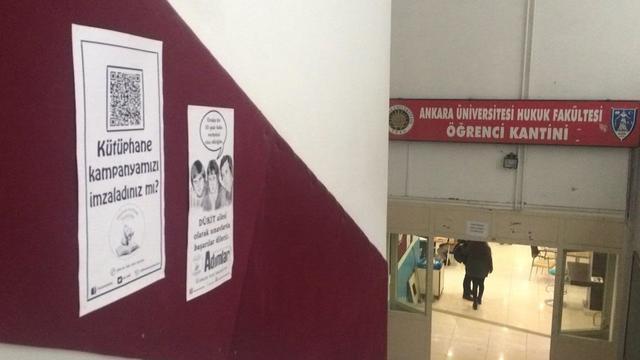 Cebeci'li öğrencilerden kütüphane talebi