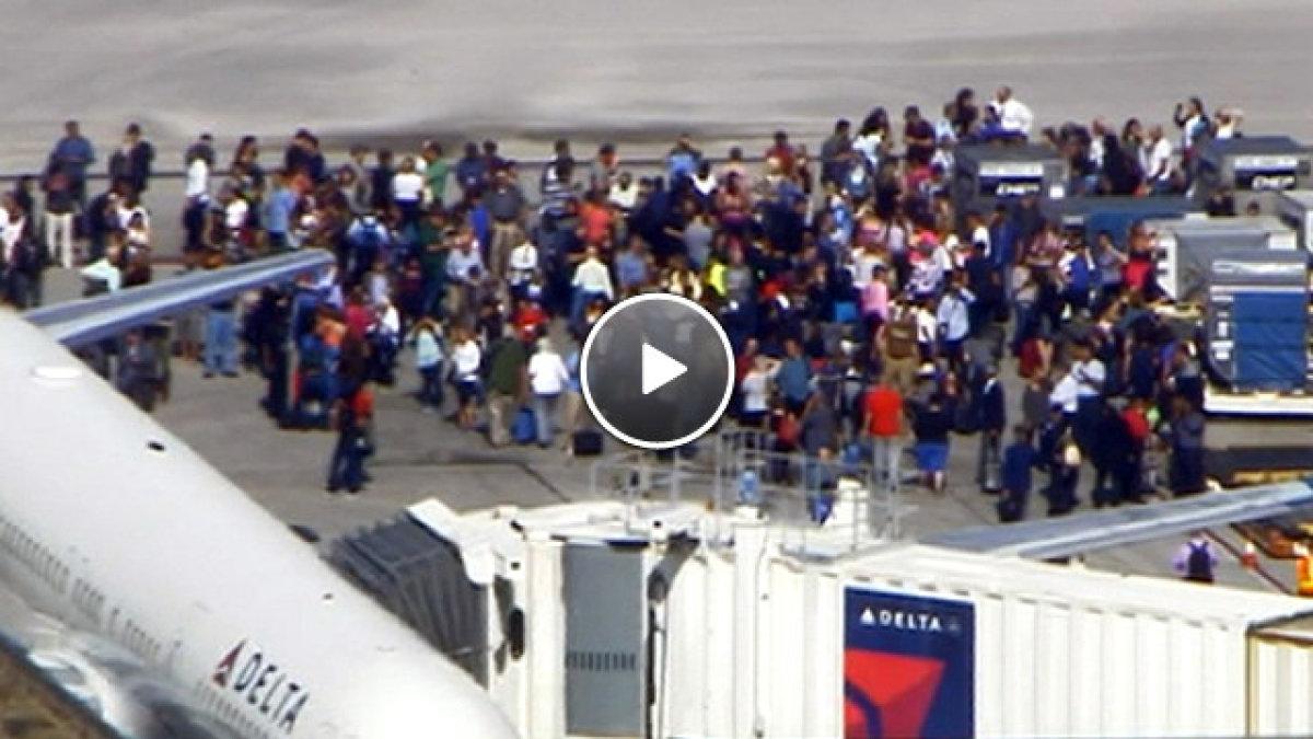 ABD'de havalimanında silahlı saldırı!