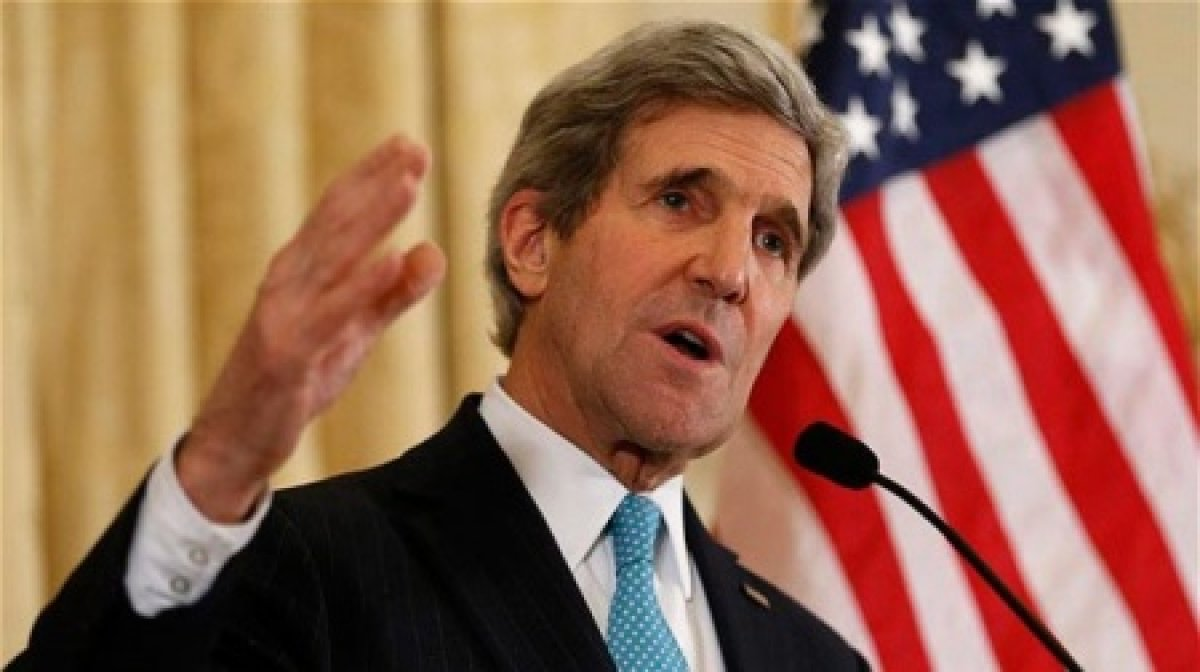 """Kerry'nin ses kaydı sızdırıldı: """"IŞİD'in büyümesini izledik!"""""""