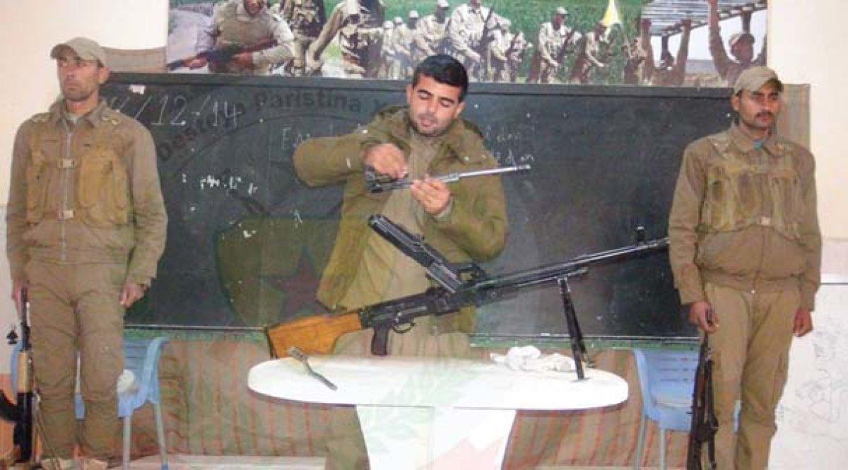ABD'li askerlerin YPG'ye eğitim görüntüleri!