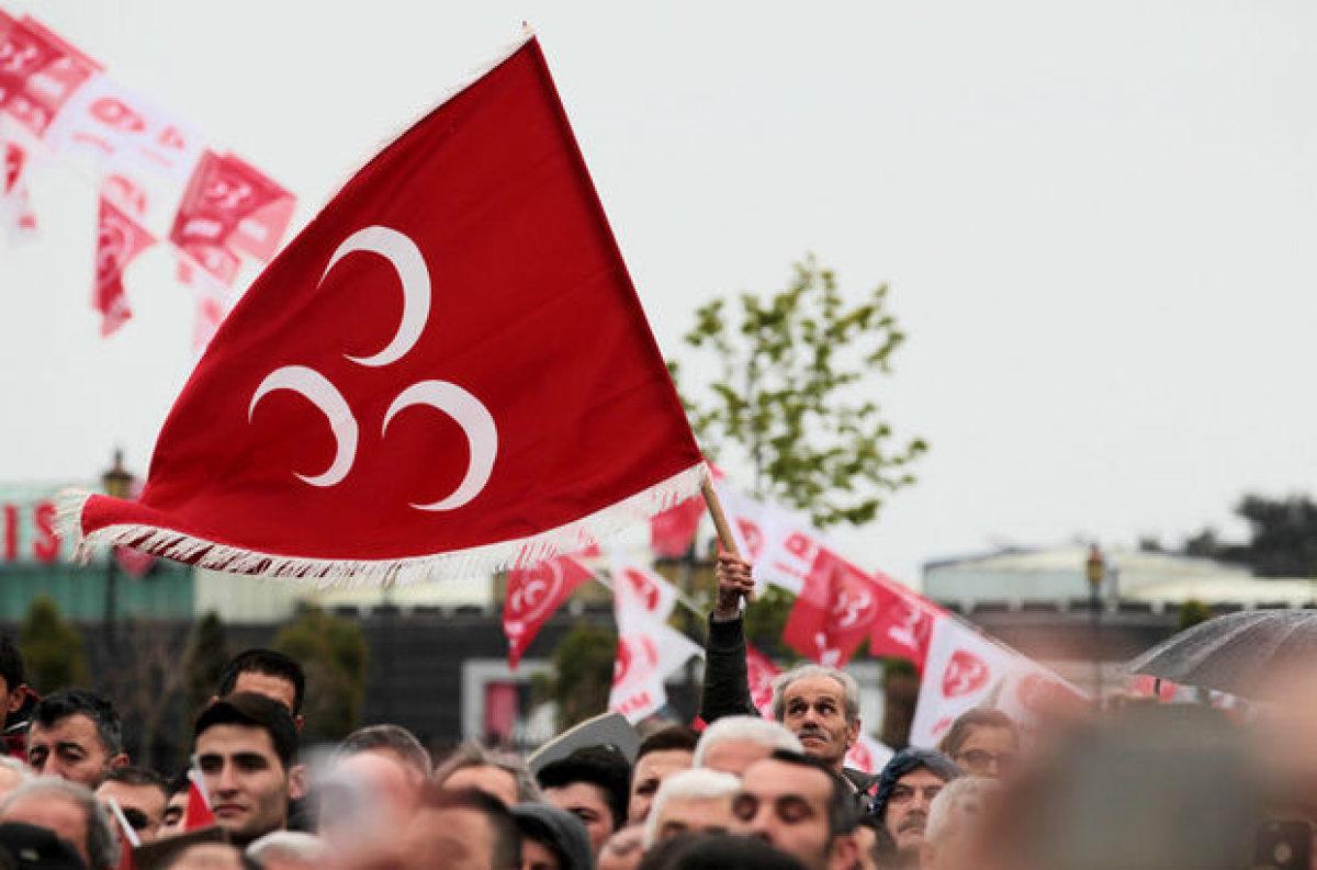 MHP'de başkanlık istifası