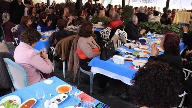 TGB Bursa CKD Dayanışma Kahvaltısına Katıldı