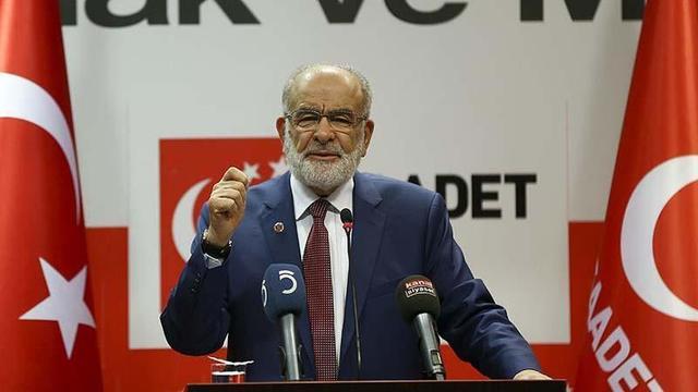 Saadet Partisi: 'Başkanlığa Hayır' dedi!