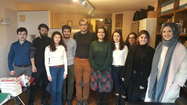 Genç İletişimciler, Oda Tv'yi ziyaret etti