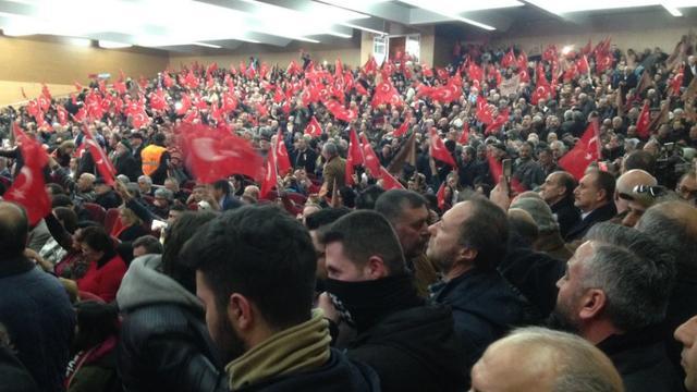 Ülkücüler 'hayır' için Ankara'da buluştu