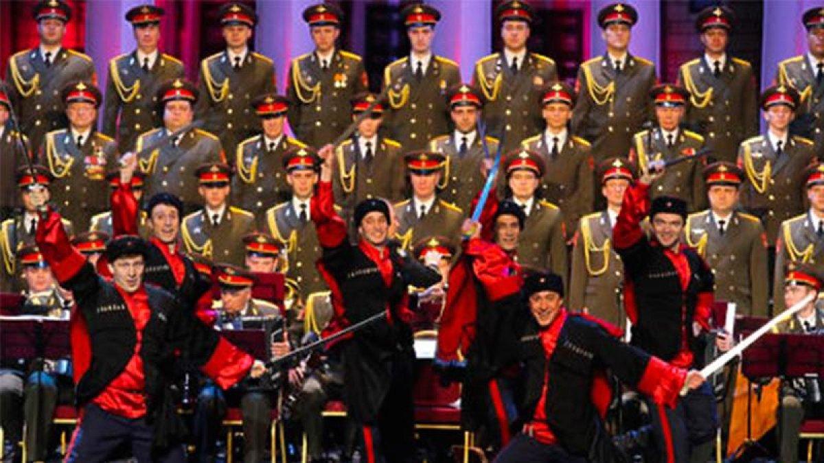 Kızıl Ordu Korosu kazadan sonra ilk kez sahnedeydi