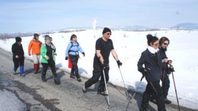 Şerife Bacı'yı anmak için yürüdüler