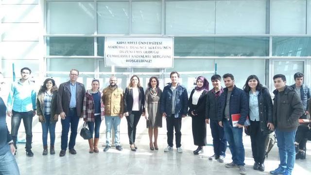Kırklareli Üniversitesi ADK'dan 8 Mart sergisi