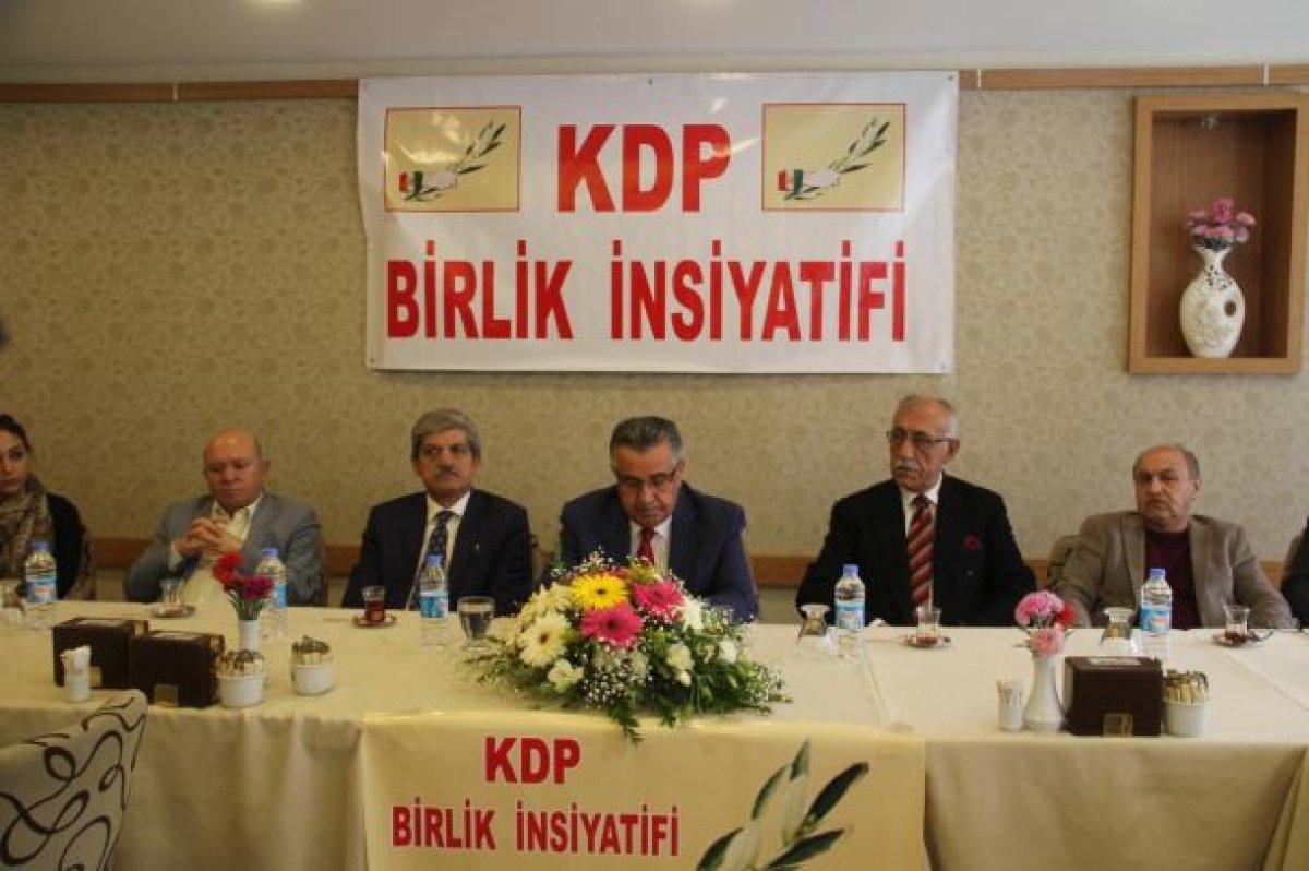 """Kürdistan Demokrasi Partisi'nden """"Evet"""" açıklaması"""