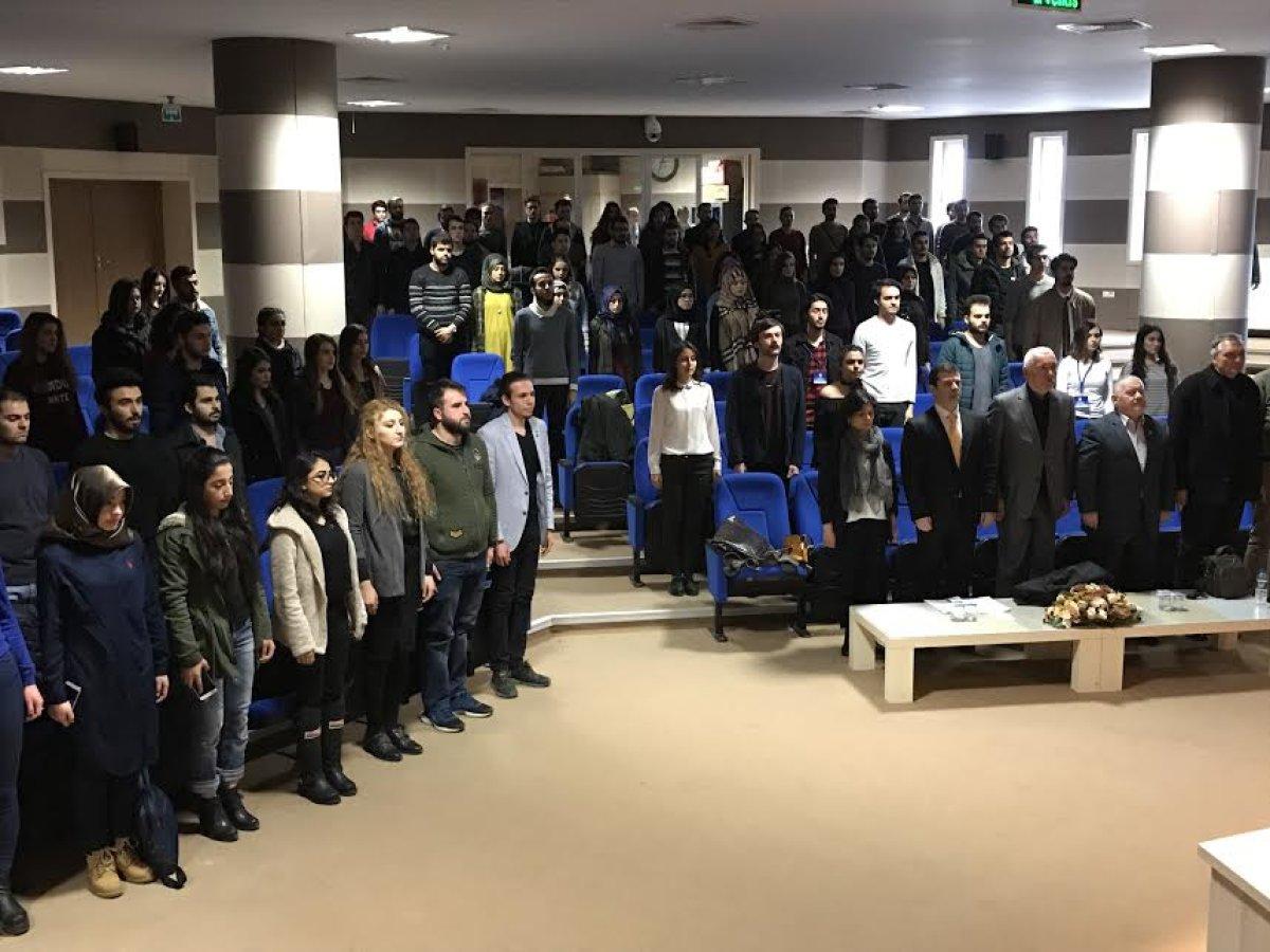 Karabük Üniversitesi ADK'dan Terör ve Ekonomik Kriz Konferansı