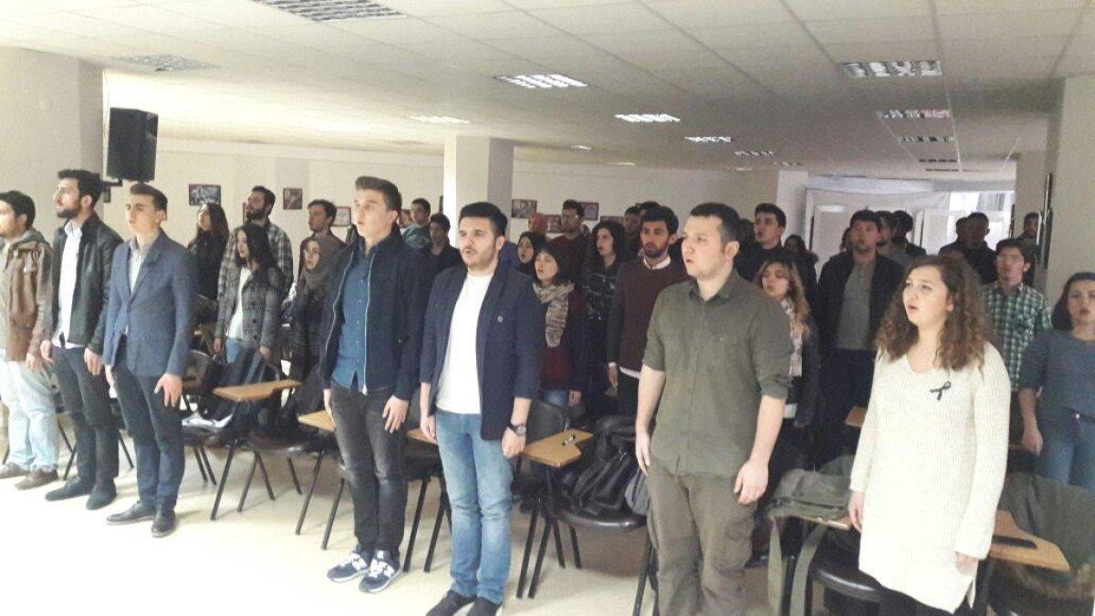 Selçuk Üniversitesi ADT, Çanakkale Şehitlerimizi andı!