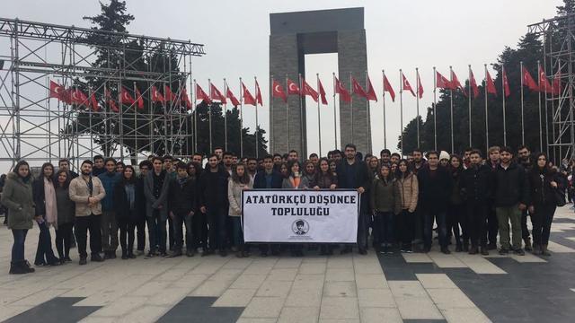 Atatürkçü Düşünce Toplulukları Çanakkale'ye Ziyaret Etti