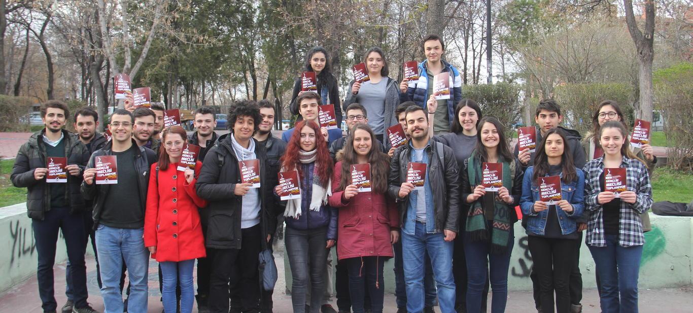 2 Nisan 'Gençlik Meclisi' çalışmaları hızlandı