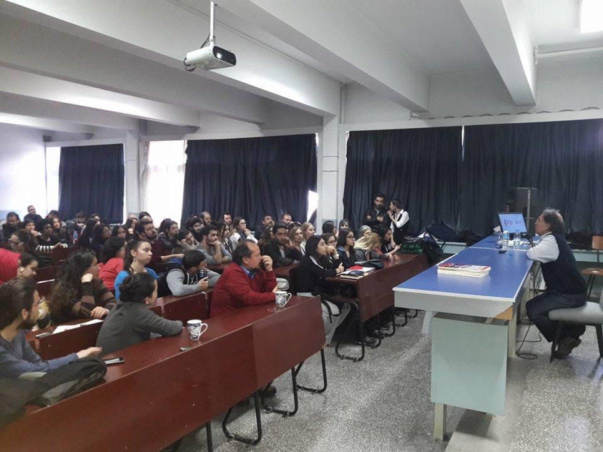 Ege üniversitesi öğrencileri neandertalleri konuştu