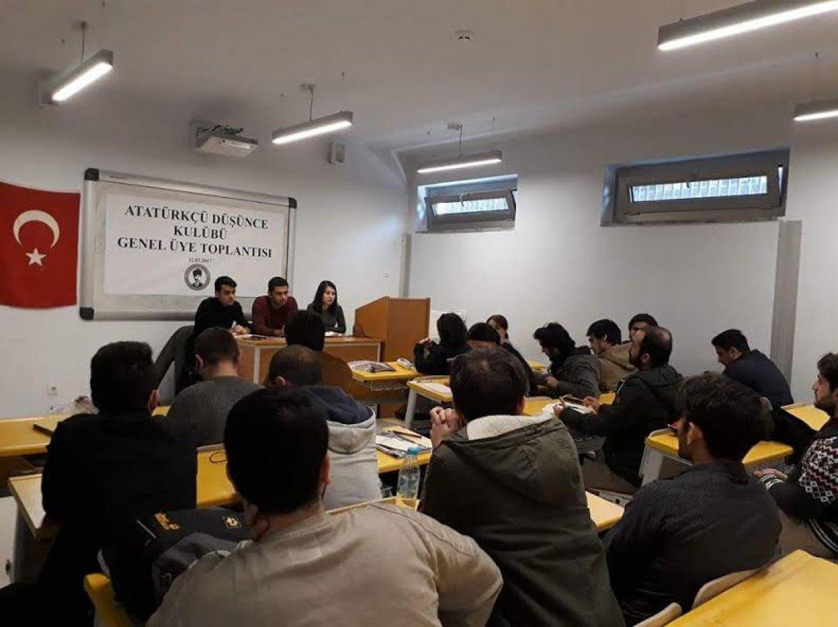 İstanbul Üniversitesi ADK, 2 Nisan'da Gençlik Meclisi'nde!