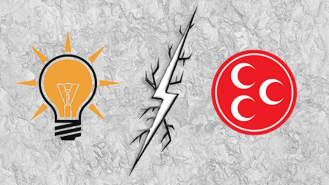 AKP ve MHP hezimetin faturasını birbirlerine kesiyor!