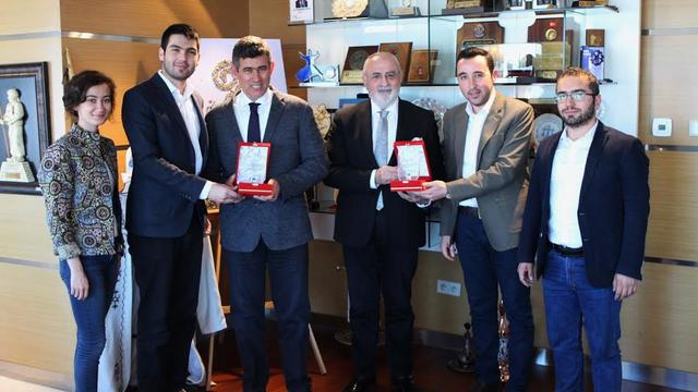 Türkiye Barolar Birliği'ne teşekkür ziyareti