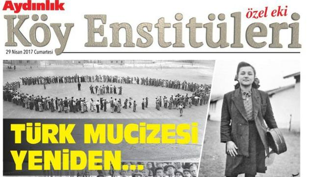 Aydınlık'tan 77.yılında Köy Enstitüleri eki!