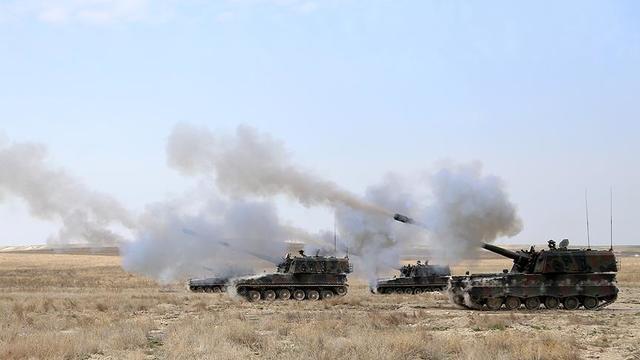 Mehmetçik PKK/YPG'yi vuruyor!