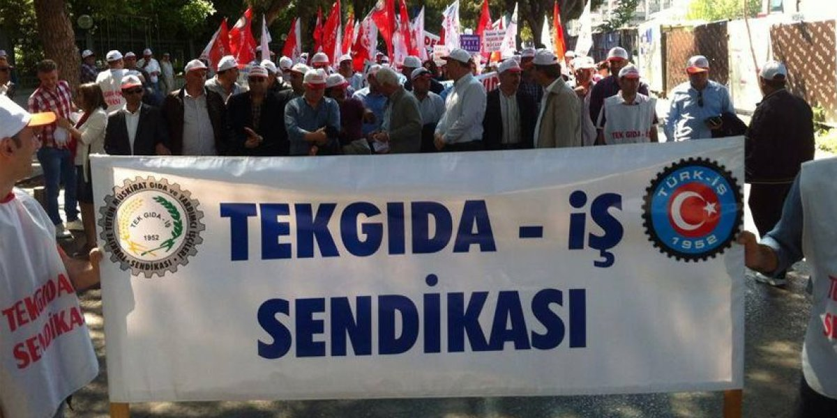 Tekgıda-İş: Alan HDP'yi istemiyor!