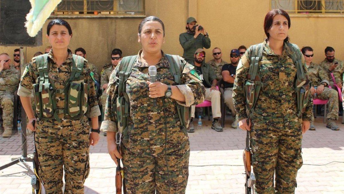 Coniler PKK yemin töreninde!