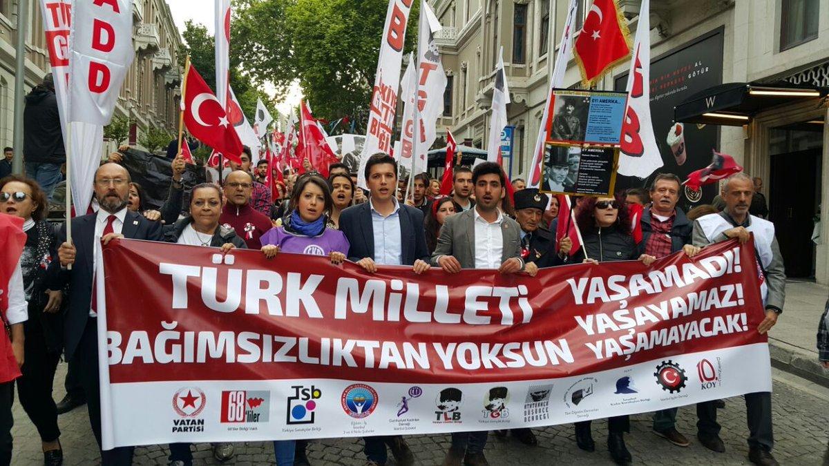 TGB milli mücadele ruhuyla Beşiktaş'ı inletti!