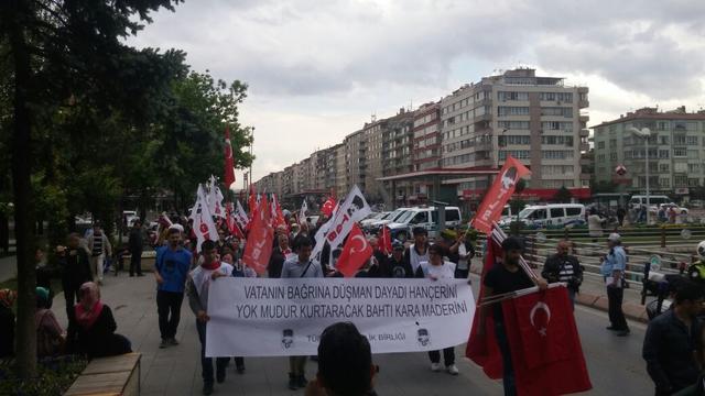 TGB Kırklareli teröre karşı mücadele için kolları sıvadı!