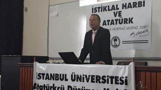 """İstanbul Üniversitesi ADK'dan """"İstiklal Harbi ve Atatürk"""" söyleşisi"""