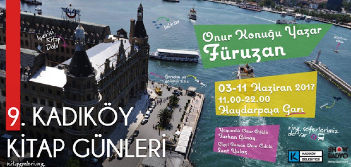 Kadıköy Kitap Günleri, 3 Haziran'da Başlıyor