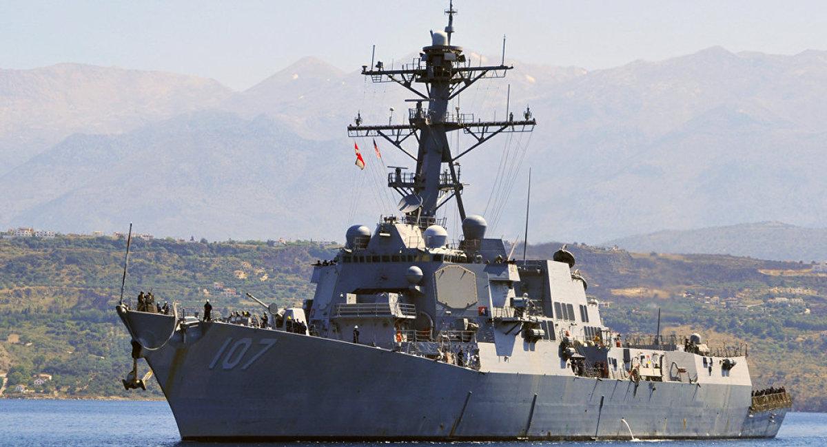 Çin savaş jetleri, ABD'nin destroyer gemisini uyardı