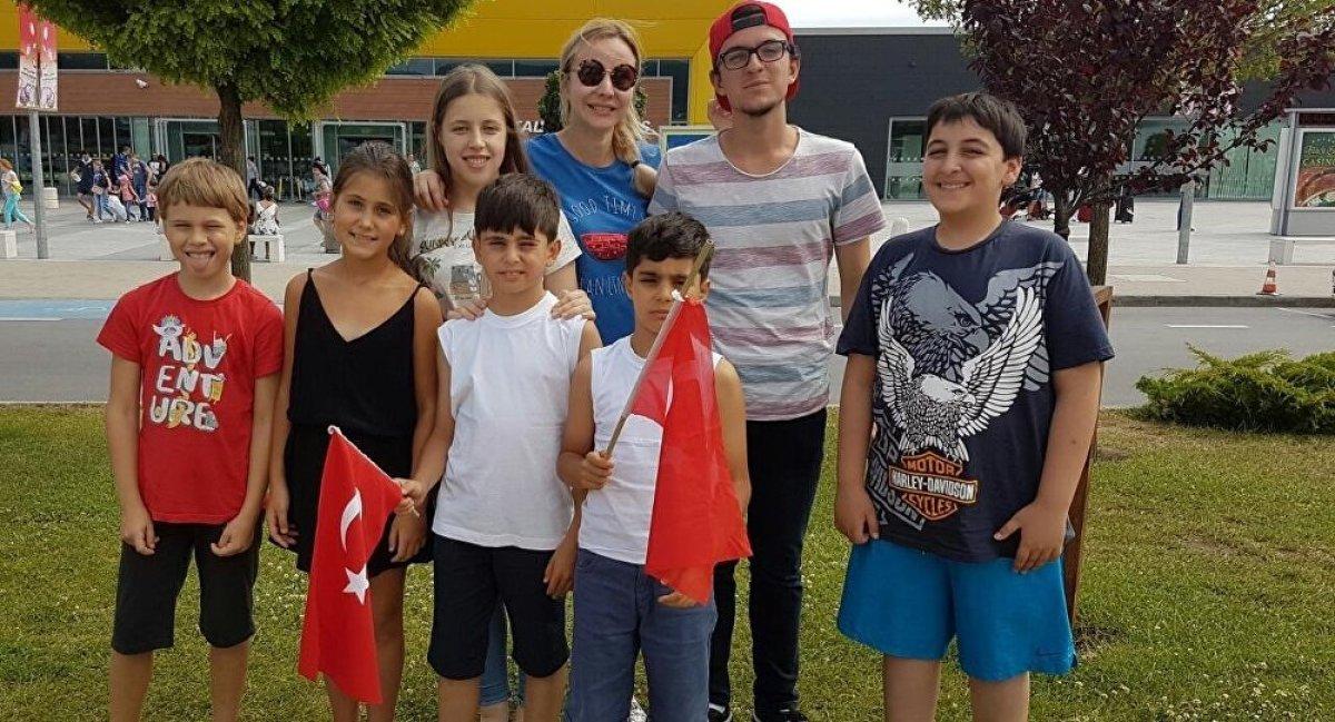 Türk ve Rus çocuklar arasında dostluk köprüsü