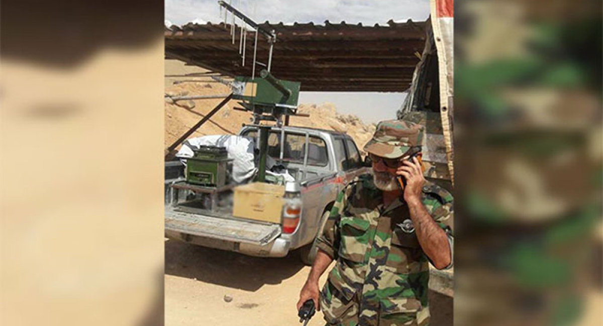 Suriye ordusu teröristlerin İHA'larına karşı elektronik top kullanacak