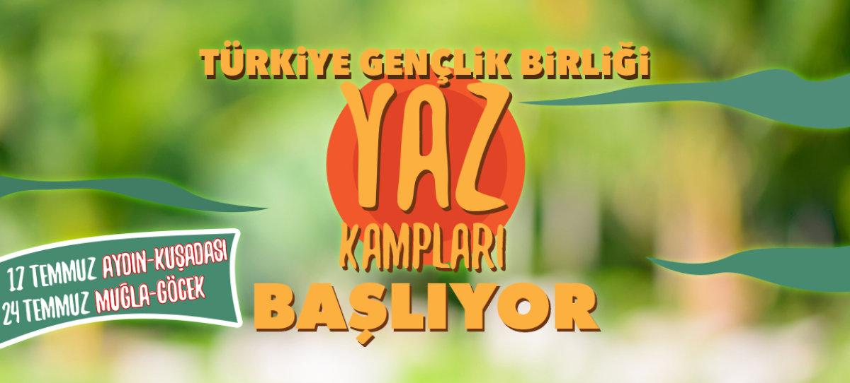 TGB İzmir, İzmirli gençleri yaz kampına çağırıyor!