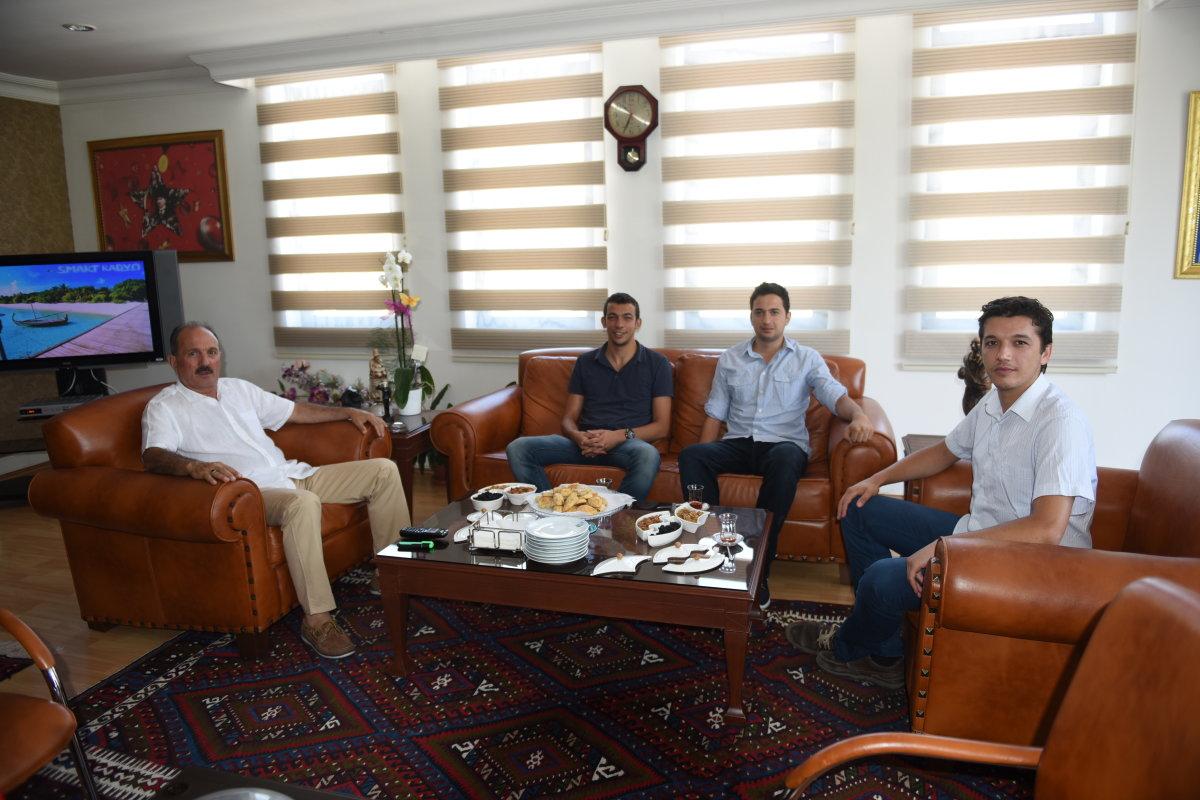 TGB'den Fethiye Belediyesine teşekkür ziyareti