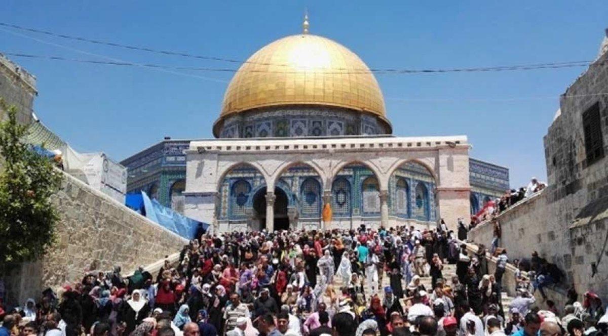 WAYU'dan İsrail'in Mescid-i Aksa yasakları hakkında açıklama