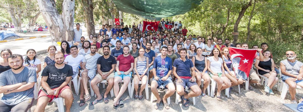 Atatürk gençliği yaz kamplarında buluştu